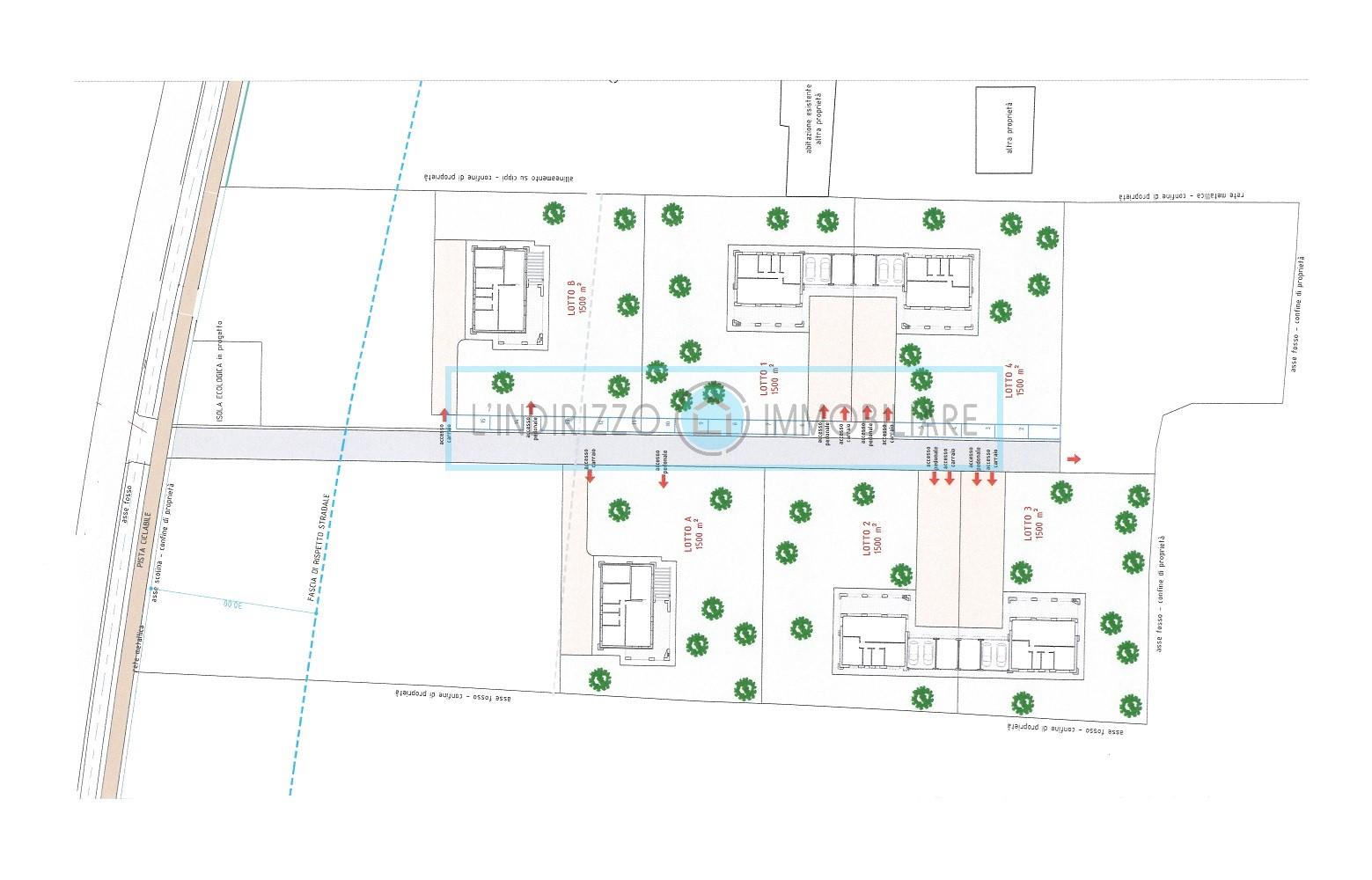 Lotti di terreno edificabile per la costruzione di villette singole a SCORZE'